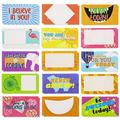 60-Pack Kids Christian Lunch Box Notes, 30 Designs, 3.5 X 2 inches