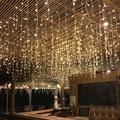 LYUMO Fairy Net Light, Curtain String Light,210 LED Fairy Net Light Mesh Curtain String Wedding Christmas Party Decor US
