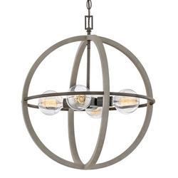 "Hinkley Lighting 3424 Bodie 4 Light 20"" Wide Globe Chandelier"