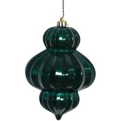 """Vickerman 6"""" Teal Candy Lantern with UV-Resistant Finish and Pre-Drilled Cap, Set of 3"""