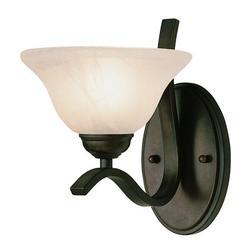 Trans Globe Lighting 2825 1 Light Up Lighting Wall Sconce