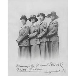 Minneapolis General Electric Company Meter Readers 1918 Poster Print by Stocktrek Images (11 x 17)