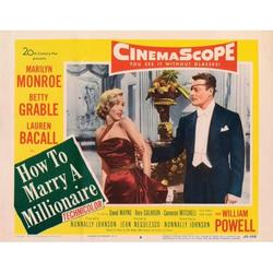 How To Marry A Millionaire Marilyn Monroe Alex D'Arcy 1953 Tm & Copyright 20Th Century Fox Film Corp. All Rights Reserved. Movie Poster Masterprint