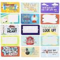 60-Pack Motivational Religious Lunch Box Note Cards with Bible Verses, 30 Designs, 2 X 3.5 inches