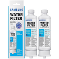Samsung DA97-17376B HAF-QIN DA97-08006C Refrigerator Water Filter Samsung HAF-QIN/EXP HAFQIN DA9717376B RF23M8070SG BRF425200AP (2 Pack)