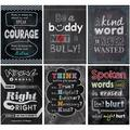 Creative Teaching Press Inspire U No Bullying Allowed, 6 Poster Pack (CTP7481)