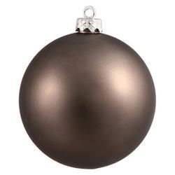 Vickerman 4.75 in. Matte Ball Ornament - Set of 4