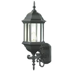 Trans Globe Lighting Josephine 4351 BK Outdoor Wall Lantern