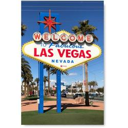 Awkward Styles Welcome to Fabulous Las Vegas Sign Poster Artwork Las Vegas Unframed Decor for Office Welcome to Fabulous Las Vegas Poster Wall Art Printed Photo American Poster Stylish Decor Ideas