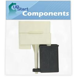 W10613606 Refrigerator Compressor Start Relay & Capacitor Replacement for Maytag AFI2538AES3 Refrigerator - Compatible with W10613606 Start Device Relay Overload With Capacitor