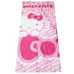 Hello Kitty Girls Pink and White Colored Polyester Sleeping Bag