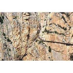 Tourism Caminito Del Rey Excursion Malaga-20 Inch By 30 Inch Laminated Poster With Bright Colors And Vivid Imagery-Fits Perfectly In Many Attractive Frames