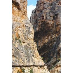 Adventure Active Turism Malaga Caminito Del Rey-12 Inch BY 18 Inch Laminated Poster With Bright Colors And Vivid Imagery-Fits Perfectly In Many Attractive Frames