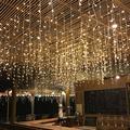 LAFGUR 210 LED Fairy Net Light Mesh Curtain String Wedding Christmas Party Decor US, Curtain String Light, LED Net Light