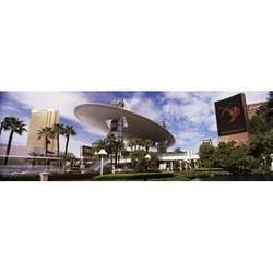 Hotels in a city Trump Hotel Las Vegas Wynn Las Vegas The Strip Las Vegas Nevada USA Poster Print (18 x 6)