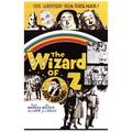 The Wizard of Oz - Retro Poster Poster Print