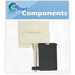 W10613606 Refrigerator Compressor Start Relay & Capacitor Replacement for Maytag MFF2558KEW11 Refrigerator - Compatible with W10613606 Start Device Relay Overload With Capacitor