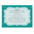 Personalized Your Family Recipe Glass Cutting Board-4-Teal