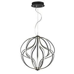 E21176-BK-ET2 Lighting-Aura - 104W 1 LED Pendant in Transitional style - 24 Inches wide by 26 inches