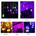 Premium LED String Lights,120 LED 10Ft Multi Colored Globe LED Fantasy Starry Crystal Wishing Waterproof String Light with 7 Lighting Color for Hanging Room,Wedding,Party,Christmas