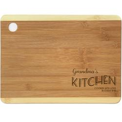 """Personalized Cooked with Love Cutting Board, Sizes 12.5"""" x 11.5"""" and 12.5"""" x 13.75"""""""