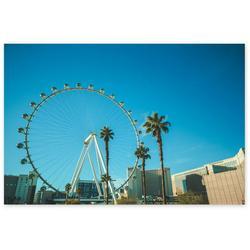 Awkward Styles Las Vegas Poster LV Souvenirs Las Vegas Party Decor LV Cityscape Vegas View Poster Art Las Vegas Cityscape Poster Printed Decor Led City Ligths Stylish Dining Living Room Decor Ideas