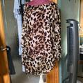 Victoria's Secret Swim | Leopard Print Swim Coverup | Color: Brown | Size: L