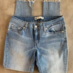 Levi's Jeans   Levis Denim Legging Jeans, Cutoff Skinny Jeans 29   Color: Blue   Size: 29