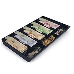 Cash Box with Money Cash Box Commercial Supermarket Cash Register Banknotes Coin Special Storage Box Drawer Type Simple Cash Register Box Cash Safe Box (Color : B)