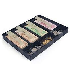 Cash Box with Money Cash Box Commercial Supermarket Cash Register Banknotes Coin Special Storage Box Drawer Type Simple Cash Register Box Cash Safe Box (Color : A)