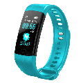 Fitness Tracker Unisex Smart Watch Best Slim Cool Fitness Tracker Heart Rate Monitor,Gym Sports Tracker Watch, Pedometer Watch with Sleep Monitor, Step Tracker(TURQUOISE)
