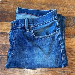 J. Crew Jeans   J Crew Mens Jeans Urban Slim 34 X 32 Blue Denim   Color: Blue   Size: 34