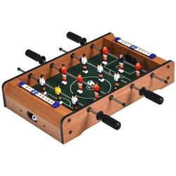 """ovve Mini Tabletop 20"""" Wood Foosball Table Manufactured wood in Brown/Green, Size 4.0 H x 20.0 W x 12.0 D in   Wayfair 58732460"""