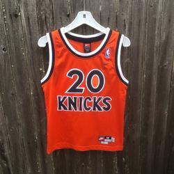 Nike Shirts & Tops   Nike New York Knicks Jersey Size Youth   Color: Orange   Size: Mb