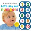 Lets Say Our Numbers (Board Book)