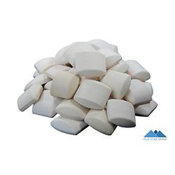 Blue Ridge Brand 60 Ceramic Briquettes For BBQ Grilling Heat Distribution - Lava Rock and Heat Shield Alternative - Radiate Heat For Gas, Propane, and Butane Grills