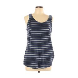 SONOMA life + style Sleeveless Top Blue Print Scoop Neck Tops - Used - Size Large