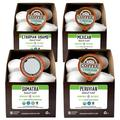 Fresh Roasted Coffee Organic Swiss Water Half Caf Coffee Pod Variety Pack in Brown, Size 8.4 H x 6.0 W x 12.6 D in   Wayfair