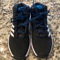 Adidas Shoes   Adidas Basketball Shoes. Size 3.5 New Wo Tags.   Color: Black/Blue   Size: 3.5bb