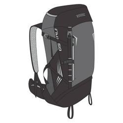 Wenzel Flux 50L Trail Pack - Gray