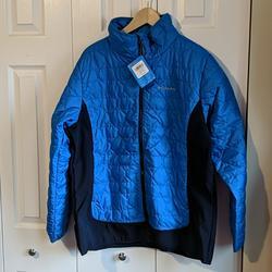 Columbia Jackets & Coats   Columbia Seneca Basin Hybrid Jacket Blue 1x Quilt   Color: Blue   Size: 1x