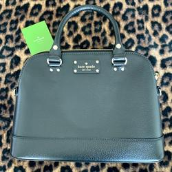 Kate Spade Bags | New Kate Spade Bag With Handles + Long Strap | Color: Black/Gold | Size: Os