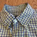 Ralph Lauren Shirts | Ralph Lauren Plaid Shirt Sleeve Shirt Size Medium | Color: Green/Purple | Size: M
