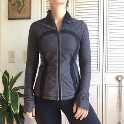 Lululemon Athletica Jackets & Coats | Lululemon Define Jacket | Color: Black/Gray | Size: 8