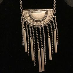 American Eagle Outfitters Jewelry | American Eagle Necklace | Color: Silver | Size: 30 Long