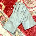 Coach Accessories | Coach Leather 100% Wool Tech Gloves - Size 6.5 | Color: Gray | Size: 6.5