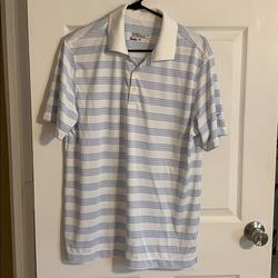 Nike Shirts   Nike Golf Polo   Color: Blue/White   Size: M