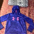 Under Armour Other | Purple And Pink Under Armour Hoodie | Color: Pink/Purple | Size: Extra Large