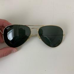 Ray-Ban Accessories   Classic Rayban Aviator Sunglasses Gold Hardware   Color: Gold   Size: Os