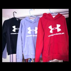 Under Armour Shirts & Tops   Gray Boys Youth Small Under Armour Sweatshirt   Color: Gray   Size: Youth Small